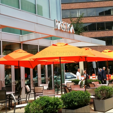 Rasika offers patio seating in the spring and summer months.