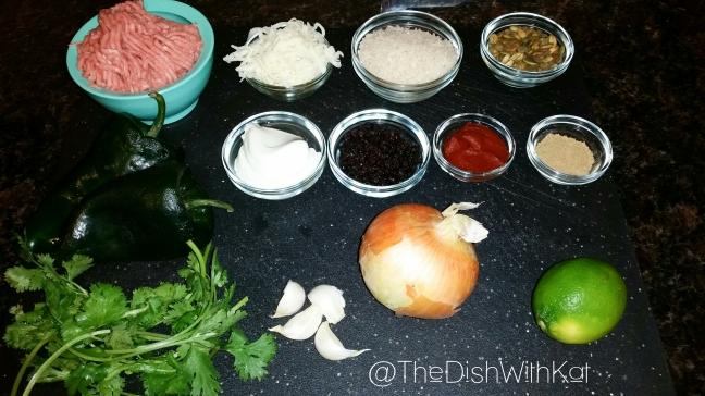 PoblanoIngredients