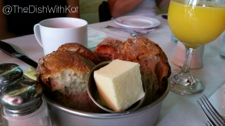 The warm, rustic bread was delicious and a favorite of my new friend, Brandon.