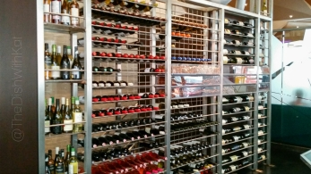 Rasika has a well-renown wine cellar that features wines from all over the world, and they seized the opportunity to place them on display.