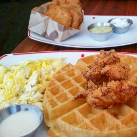 Breakfast Chicken & Waffles