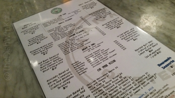 Hank's menu offers changing daily specials.