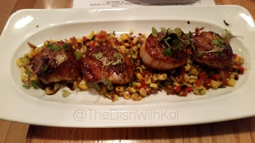 Scallops even Gordon Ramsay would proudly eat