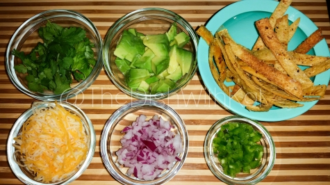 A few of my favorite toppings for Chicken Tortilla Soup