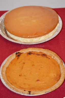 Havana Dream and Sweet Potato Pies for dessert