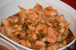 Garlic-Ginger Shrimp