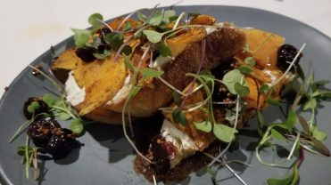 Spiced Squash Toast