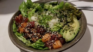 Salmon-Tuna Poke Bowl